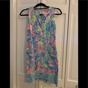 Lilly Pulitzer Kelby Dress in Mermaids Cove sz 00